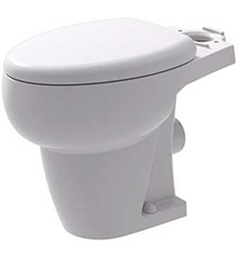 Jabsco Boat Toilet Seat Hinges 18753-0181 Kit Off-White Plastic