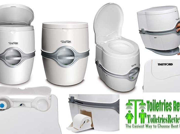 Porta Potti 565E White Thetford 92306 Portable Toilet