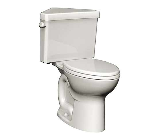 American Standard Corner Toilet: Cadet 3 Right Height Elongated